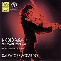 Salvatore Accardo - Paganini: 24 Capricci