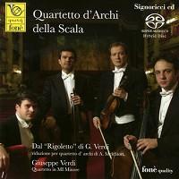 Quartetto d'Archi della Scala - Quartetto d'Archi della Scala -  Hybrid Stereo SACD