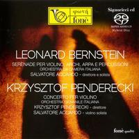 Salvatore Accardo - Bernstein: Serenade, Penderecki: Violin Concerto -  Hybrid Stereo SACD