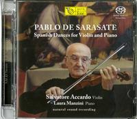 Salvatore Accardo and Laura Manzini - Sarasate: Spanish Dances For Violin And Piano