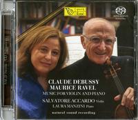 Salvatore Accardo and Laura Manzini - Debussy/Ravel: Music For Violin And Piano