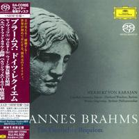 Herbert von Karajan - Brahms: German Requiem -  SHM Single Layer SACDs