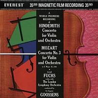 Sir Eugene Goossens - Hindemith Violin Concerto/ Mozart Violin Concerto