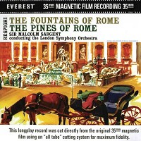 Sir Malcolm Sargent - Respighi: Pines & Fountains of Rome -  HDAD 24/96 24/192