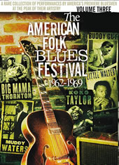 Various Artists - American Folk Blues Fest 62-69 Vol. 3 -  DVD Video