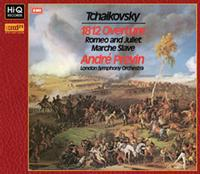 Andre Previn - Tchaikovsky: 1812 Overture; Romeo & Juliet; Marche Slave -  XRCD24 CD