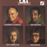 L.A. Four - Just Friends -  DVD Audio