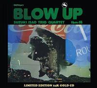 Isao Suzuki Quartet - Blow Up -  Gold CD