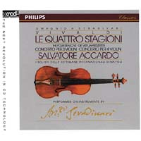 Salvatore Accardo - Vivaldi: The Four Seasons & 2 Concertos -  XRCD2 CD