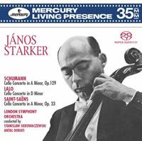 Janos Starker - Schumann, Lalo & Saint-Saens: Cello Concertos