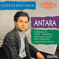 George Benjamin - Song Offerings -  CD