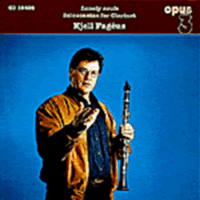 Kjell Fageus - Solo Sonatas For Clarinet