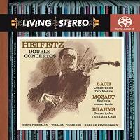 Jascha Heifetz - Bach & Brahms: Concertos