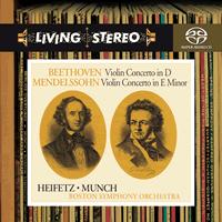 Charles Munch - Beethoven: Violin Concerto In D/ Mendelssohn: Violin Concerto in E Minor - Jascha Heifetz,violin