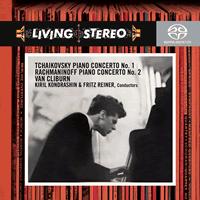 Van Cliburn - Tchaikovsky: Piano Concerto No. 1/ Rachmaninoff: Piano Concerto No. 2 -  Hybrid Multichannel SACD