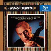 Charles Munch and the Boston Symphony - Dvorak: & Walton/ Cello Concertos