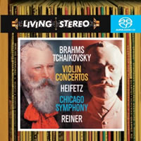 Jascha Heifetz - Brahms & Tchaikovsky: Violin Concertos -  Hybrid Multichannel SACD