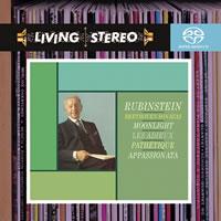 Arthur Rubinstein - Beethoven: Sonatas (Moonlight; Pathetique; Appassionata; Les Adieux) -  Hybrid Multichannel SACD