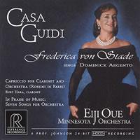 Frederica von Stade - Dominick Argento: Casa Guidi/ Frederica von Stade, mezzo-soprano/ Eiji Oue/ Minnesota Orchestra