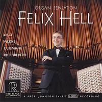 Felix Hell - Organ Sensation -  HDCD CD