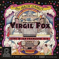 Virgil Fox - The Bach Gamut: Live in San Francisco 1976 -  HDCD CD