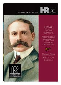 Michael Stern - Elgar: Enigma Variations/ Vaughn Williams: The Wasps/ Greensleeves -  HRx