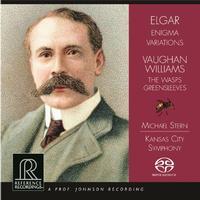 Michael Stern - Elgar: Enigma Variations/ Vaughn Williams: The Wasps/ Greensleeves