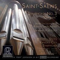 Michael Stern - Saint-Saens: Symphony No. 3 'Organ' -  HDCD CD