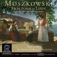 Martin West - Moszkowski: From Foreign Lands -  HDCD CD