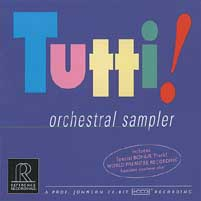 Various Artists - Tutti! Orchestral Sampler