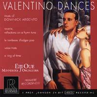 Eiji Oue - Dominick Argento: Valentino Dances -  HDCD CD