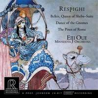 Eiji Oue - Respighi: Belkis, Queen Of Sheba Suite, Pines Of Rome -  HDCD CD