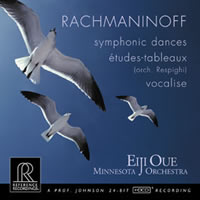 Eiji Oue - Rachmaninoff: Symphonic Dances; Vocalise -  HDCD CD