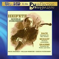 Jascha Heifetz - Bach/Mozart/Brahms: Double Concertos -  Ultra HD