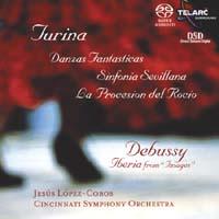 Jesus Lopez-Cobos - Turina And Debussy