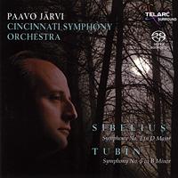 Paavo Jarvi - Sibelius - Symphony No. 2 In D major / Tubin - Symphony No. 5 In B Minor