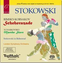 Leopold Stokowski - Rimsky-Korsakov: Scheherazade/Tchikovsky: Marche Slave
