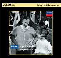 Owen Brannigan, Russell Burgess & Sally Burgess - Britten: Noye's Fludde & The Golden Vanity -  K2 HD CD