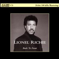 Lionel Richie - Back To Front -  K2 HD CD