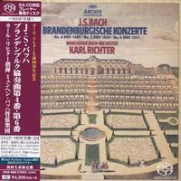 Karl Richter - Bach: Brandenburg Concertos Nos. 4-6
