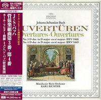 Karl Richter - Bach: Orchestral Suites 3 & 4 -  SHM Single Layer SACDs