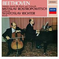 Mstislav Rostropovich and Svjatoslav Richter - Beethoven: The Complete Sonatas For Cello And Piano