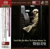 Alexis Cole - You'd Be Nice To Come Home To -  Single Layer Stereo SACD