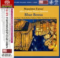 Massimo Farao Afro Cuban Piano Quartet - Blue Bossa -  Single Layer Stereo SACD