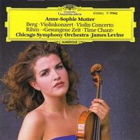 Anne-Sophie Mutter - Berg: Violin Concerto / Rihm: Time Chant