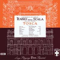 Victor De Sabata & Vittore Veneziani - Puccini: Tosca (Damaged Cover)