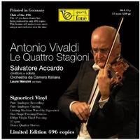 Salvatore Accardo - Vivaldi: Le Quattro Stagioni/Manzini