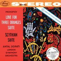 Antal Dorati - Prokofiev: Scythian Suite & Love for Three Oranges
