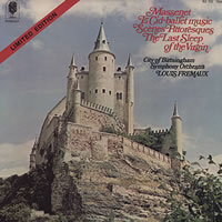 Louis Fremaux - Massenet: Le Cid Ballet Music (Low Number) -  Low Serial Numbered Vinyl Record