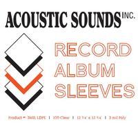 - 12' Outer Record Sleeves